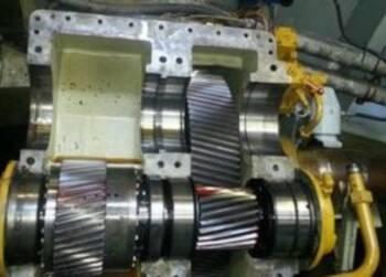 Reparatie keerkoppeling Reintjes WAF 762