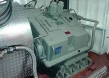 Overhaul Reintjes gearbox