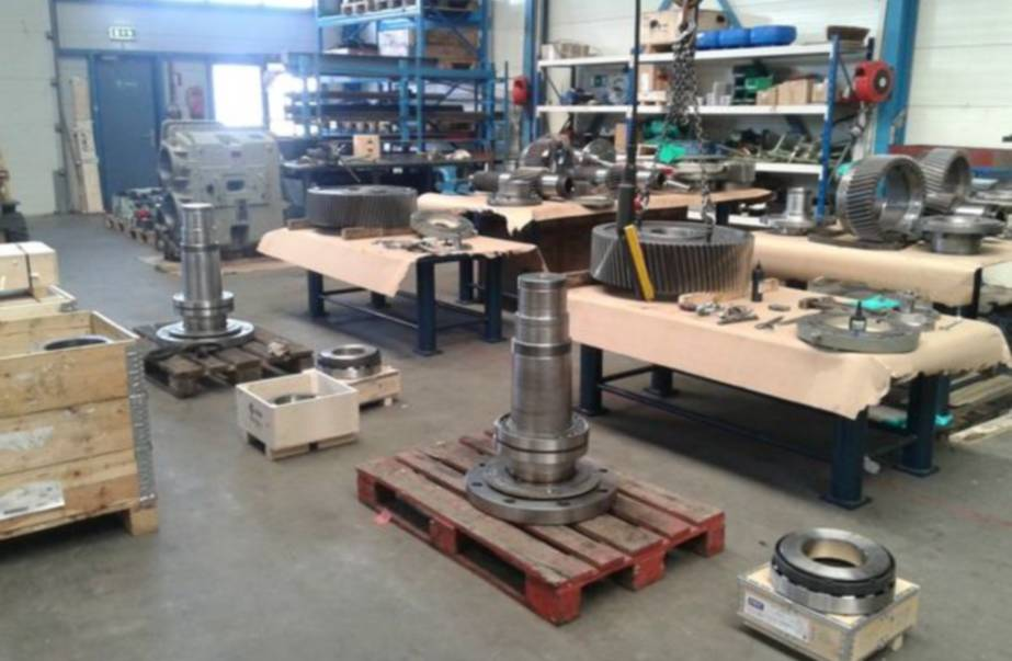 Standaard revisie van Reintjes keerkoppeling